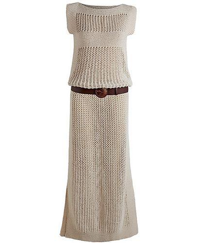 246a1c28a Ravelry  Vestido Longo de Tricô pattern by Manequim Online