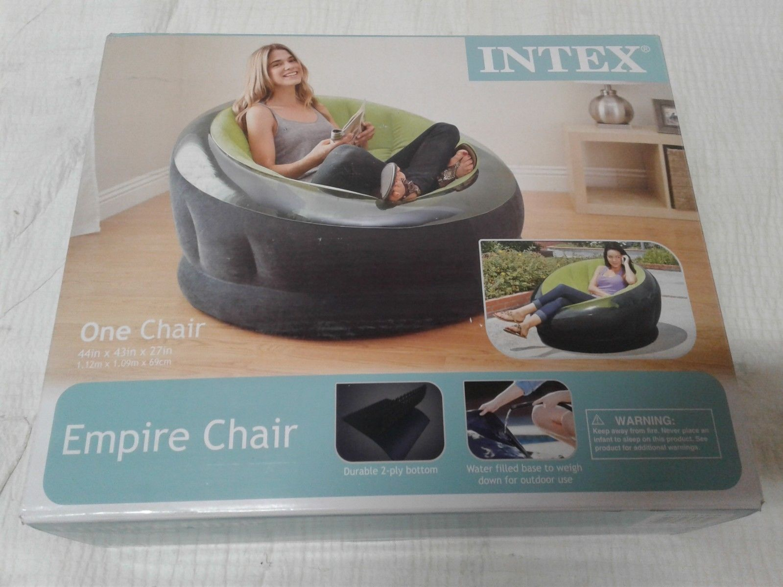 intex air chair pink rocking bean bags and inflatables 48319 inflatable lime green buy it now only 15 99 on ebay