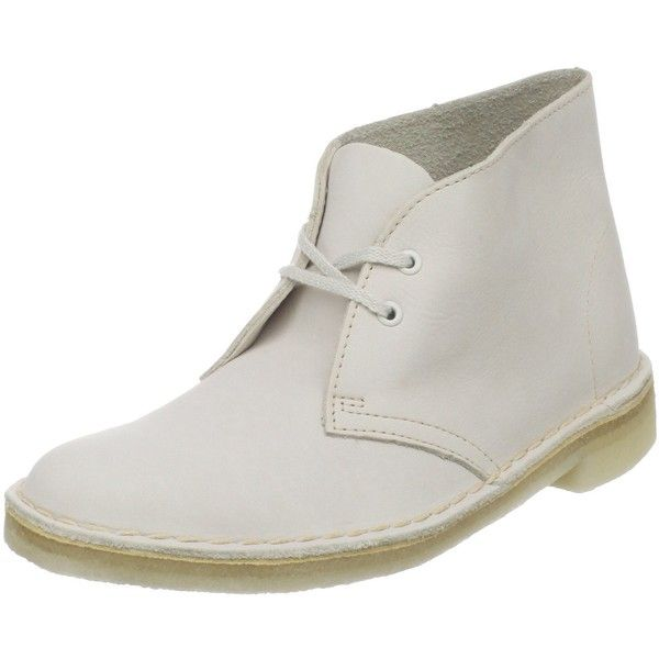 Clarks Women's Desert Boot ($70) ❤ liked on Polyvore