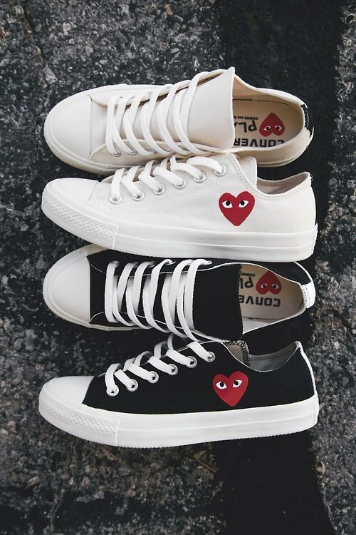 Comme des Garcon (image: theyallhateus)   Sneakers mode