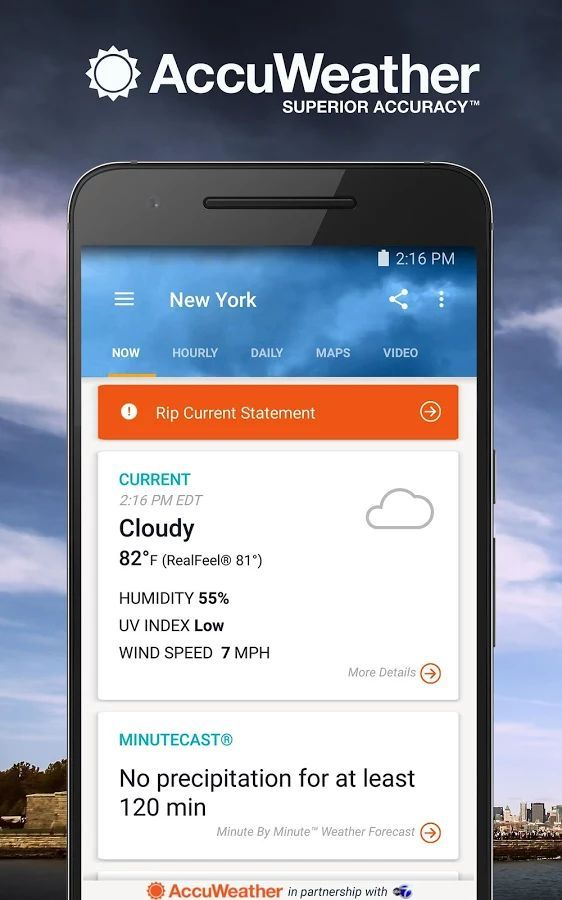 Download AccuWeather Platinum Apk v4.9.1 APK Full Five