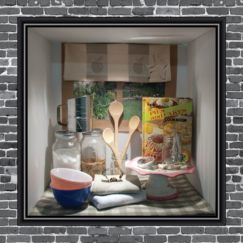 kitchen window display - Google Search | Bookstore Displays ...
