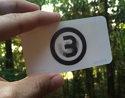 Check out new work on my behance portfolio bw design lenticular a lenticular business card design colourmoves