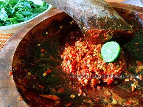 RESEP SAMBAL GOANG DADAKAN KHAS SUNDA  Resep, Masakan indonesia, dan Makanan minuman