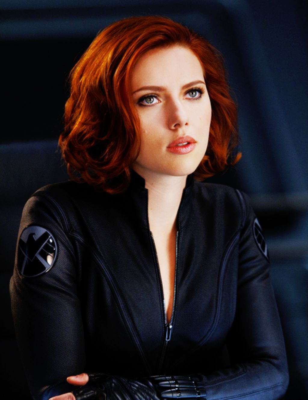 Scarlett Johansson Red Highlights Colors Scarlett Johansson Hairstyle Scarlett Johansson Red Hair Hair Inspiration Color