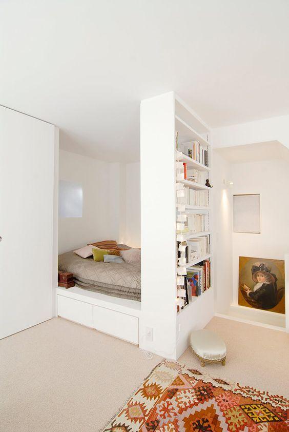 Pinterest : les meilleurs idées pour aménager un studio | Cacher ...