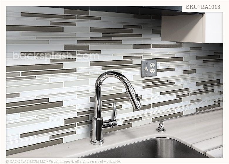 Gray Glass Kitchen Tiles 30 Day Money Back Guarantee No Restocking Fee