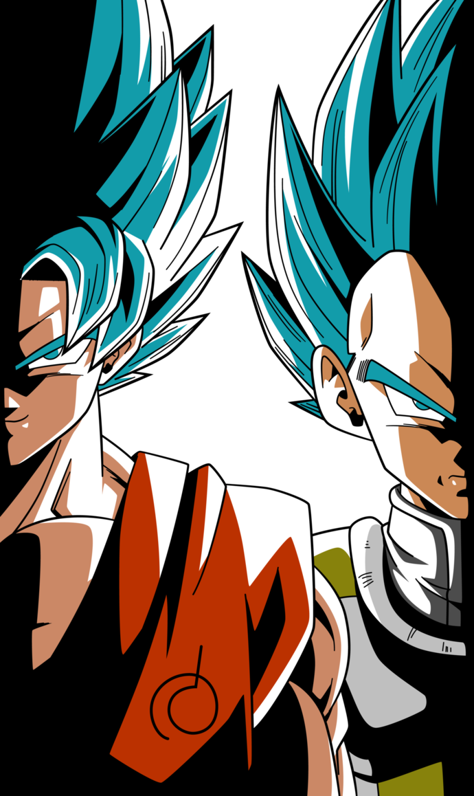 Super saiyan blue goku and vegeta alt palette 2 by - Goku vs vegeta super saiyan 5 ...
