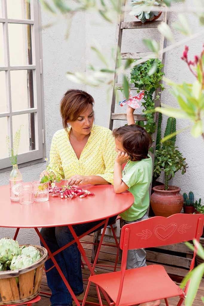 Fermob Bistro O 77 Tisch Tisch Hochwertige Gartenmobel Niedrige Tische