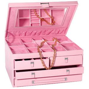 Red Envelope Pink Ribbon Jewelry Box Breast Cancer Awareness Gifts