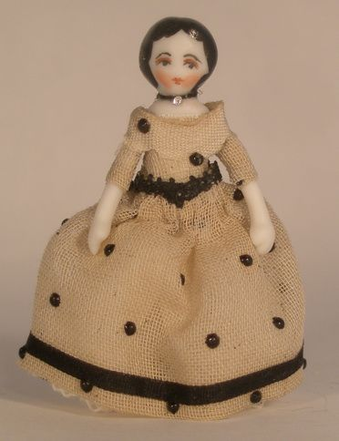 Penelope by Ethel Hicks - $48.00 : Swan House Miniatures, Artisan Miniatures for Dollhouses and Roomboxes