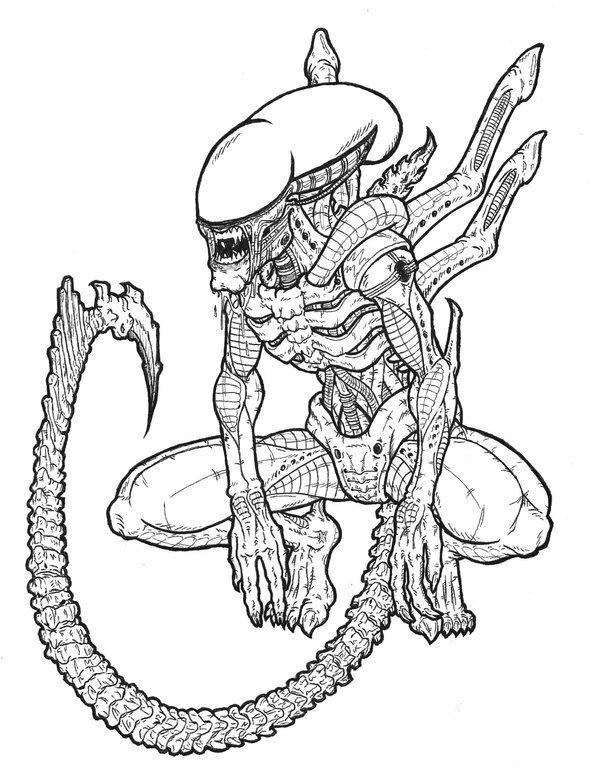 pinian fahringer on alien  alien artwork predator
