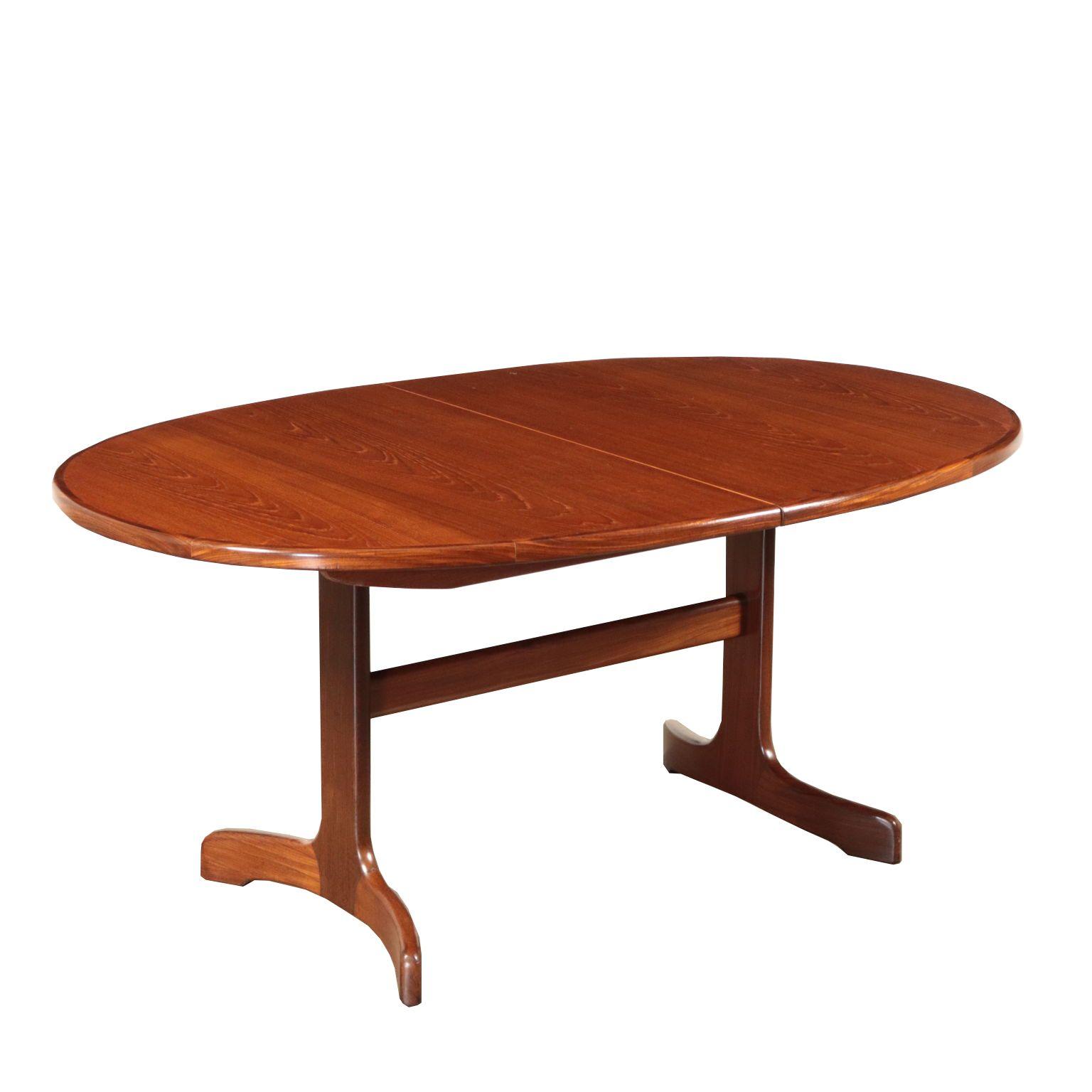Vintage Vintage Teak Veneer Table England 1960 S Table In Solid Wood And Teak Veneer Avec Images Table Bois Massif Table Bois Table Metal Bois