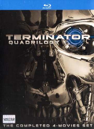 Terminator Quadrilogy The Completed 4 Movie Set 4 Disc Blu Ray With Images Movies Movie Sets Blu Ray Movies