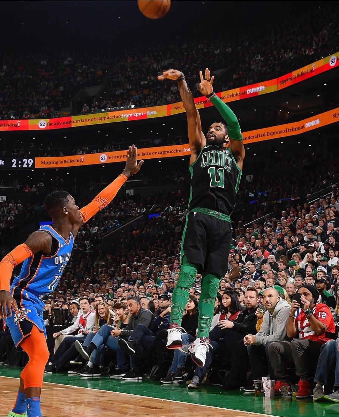 Kyrie Irving With The Smooth Jumper Kyrie Irving Kyrie Athlete