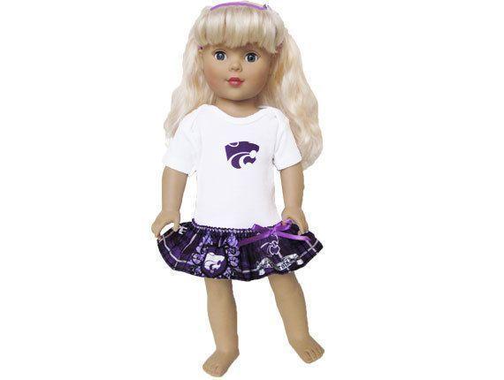 18 inch cheerleader clothes #18inchcheerleaderclothes Kansas State Wildcats Cheerleader Dress American Girl or Bitty Baby / 18 inch doll / 15 inch baby doll / purple and white #18inchcheerleaderclothes Kansas State Wildcats Cheerleader Dress by kkdesignerdolls on Etsy, $ #18inchcheerleaderclothes Kansas State Wildcats Cheerleader Dress American Girl or Bitty Baby / 18 inch doll / 15 inch baby doll / purple and white #18inchcheerleaderclothes Kansas State Wildcats Cheerleader Dress by k #18inchch