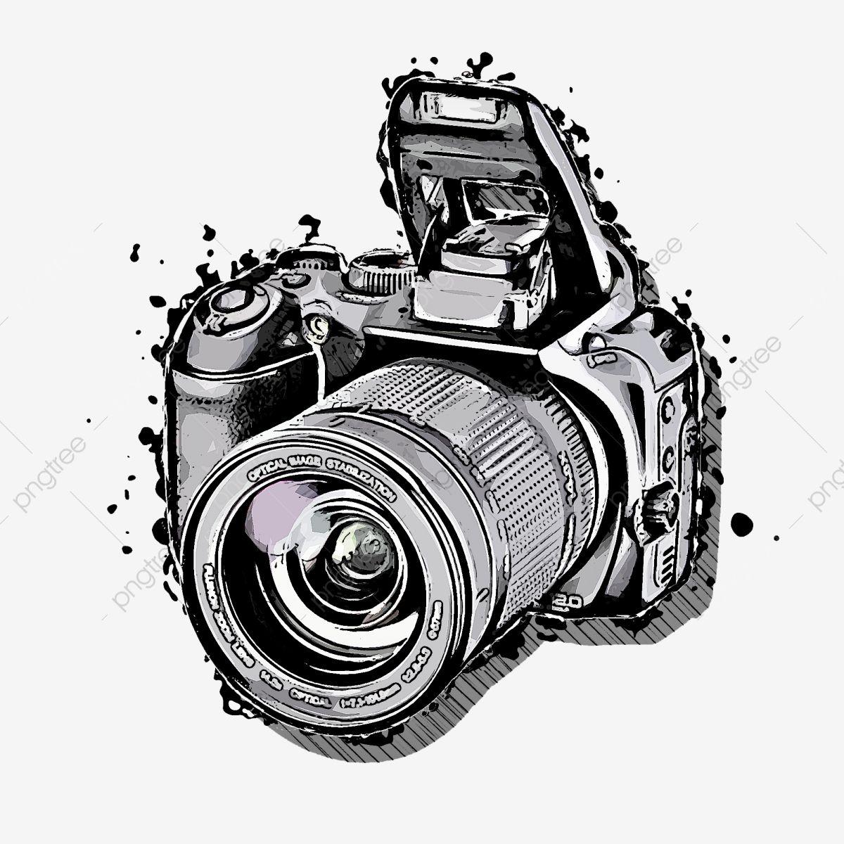 Camera Digital Cameraelectronic Camera Fotografia Camera Slr Imagem Png E Psd Para Download Gratuito Camera Tattoo Design Camera Clip Art Camera Drawing