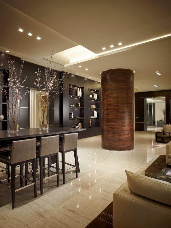 Dise o de interiores arquitectura remodelaci n de la for Sala design moderno