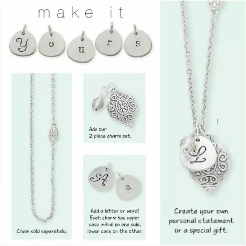 personal necklace layer mantra quote disc long products liv