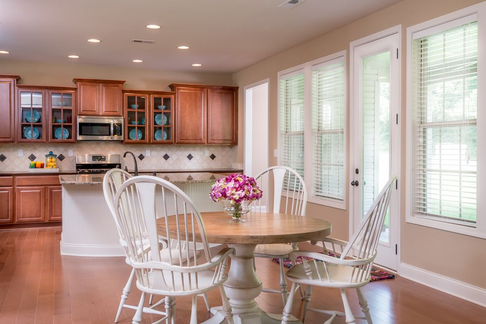 The Breakfast Area Of The Talbot Floor Plan By Ball Homes