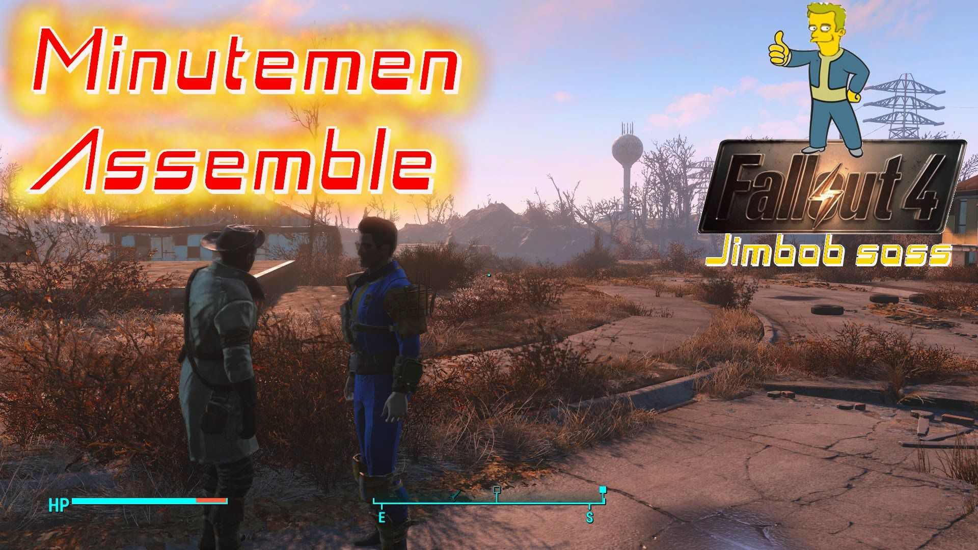Fallout 4 EP 03 Minutemen Assemble