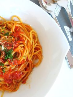 Rezepte mit Herz ♥: Spaghetti all´arrabiata