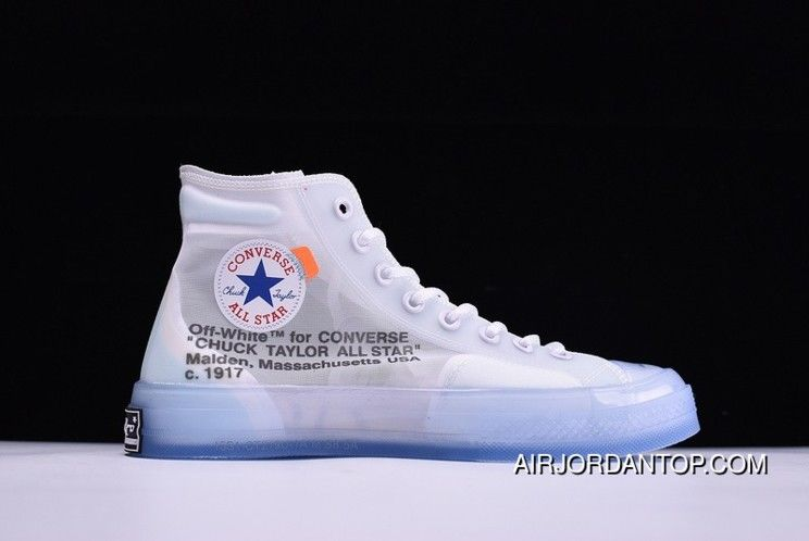 a8685cb5e54c98 Off-White X Converse Chuck Taylor All Star High Tops White Hot New Release