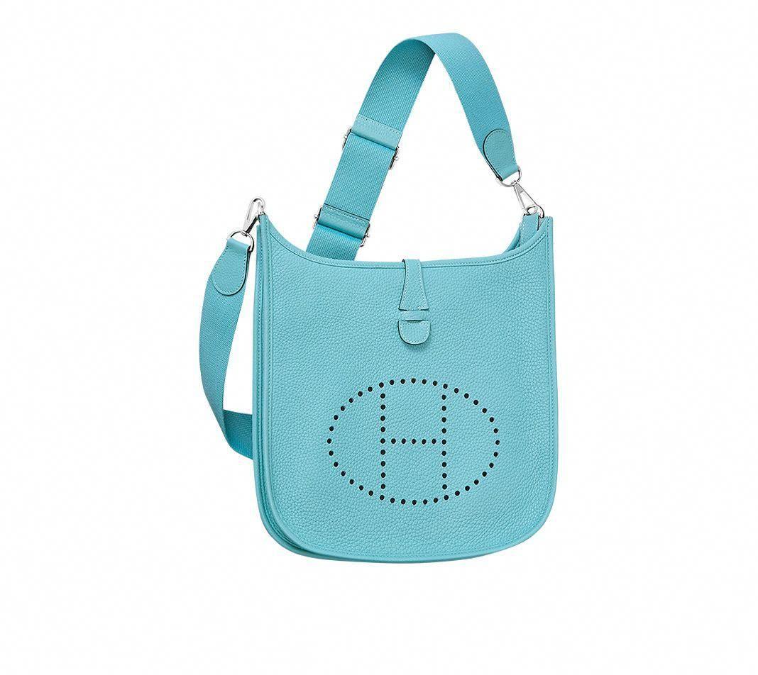 Sacs Et Bagages Hermès Bleu - Sac à Main - Femme - Cuir   Hermès, Site  Officiel  Hermeshandbags b6cd76f628e