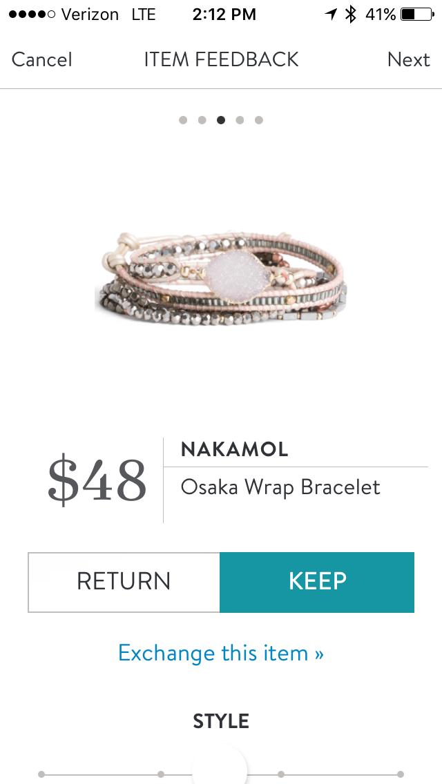 Sch Fix Nakamol Osaka Wrap Bracelet Clothes I Own In
