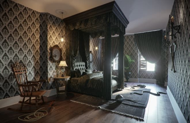 You Can Stay In the Addams Family House For a Mysterious and Spooky Evening