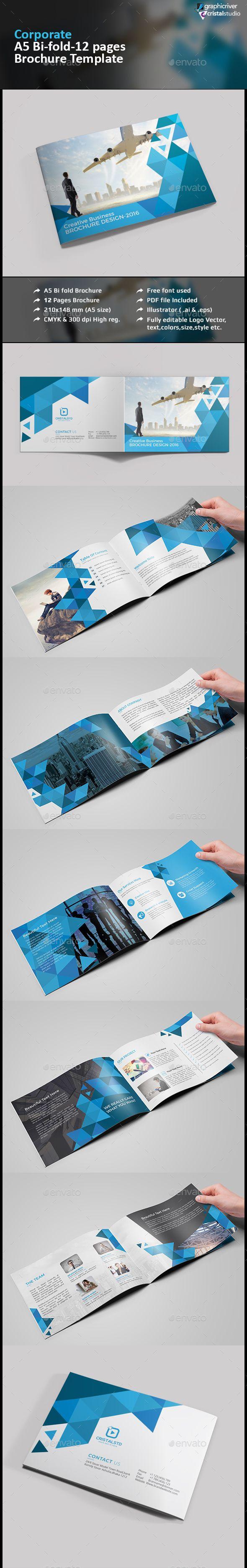 A5 Business Brochure Catalog