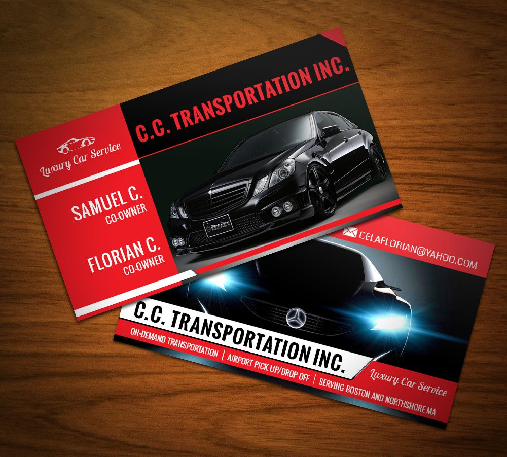 Luxury #car #service #business #cards. | Business Cards | Pinterest ...
