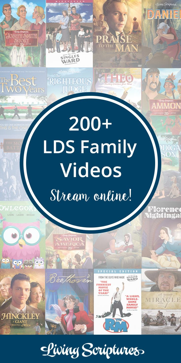 All Access Living Scriptures Streaming Family video, Lds