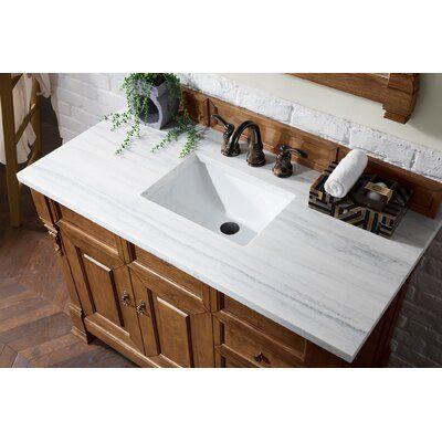"Darby Home Co Vivanco 48"" Single Bathroom Vanity Set   Wayfair"