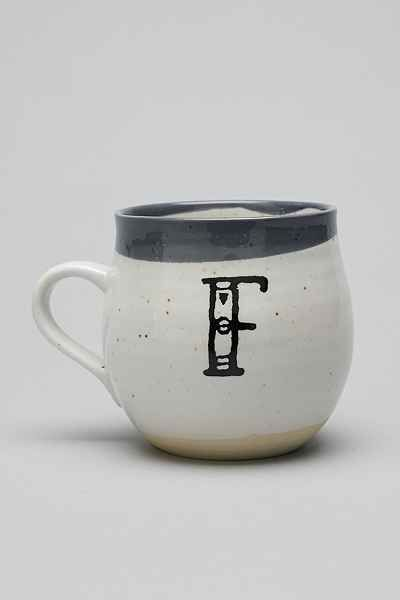 Magical Thinking Monogram Mug - Urban Outfitters