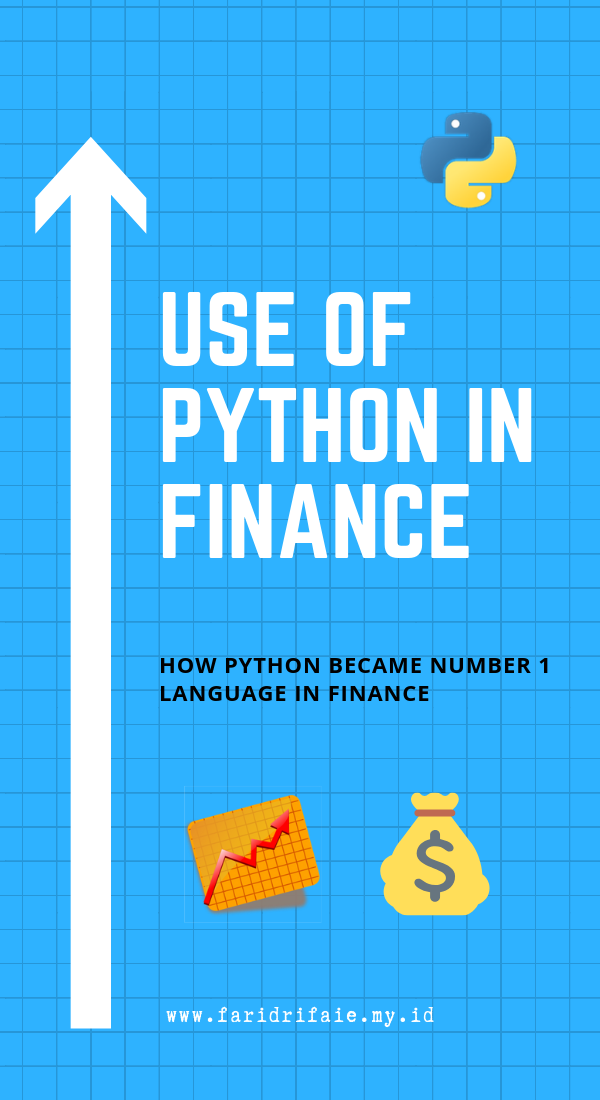 Use Of Python In Finance How Python Became Number 1 Language In Finance Python Programming Learn Programming Machine Learning Projects