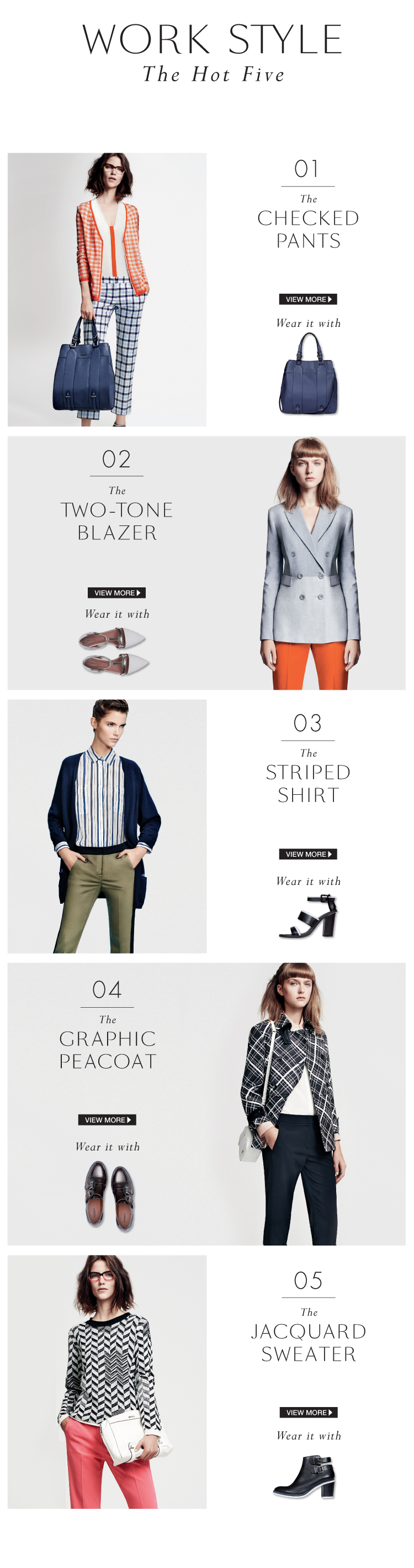 MAX&Co. work style