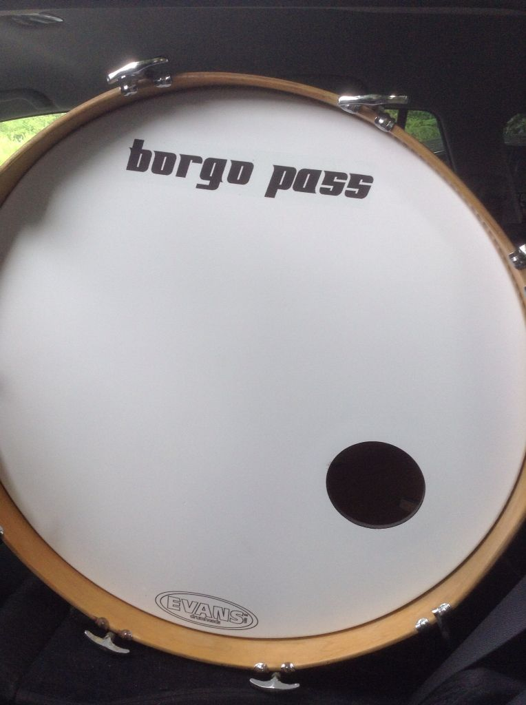 "Pass LUDWIG 24"" maple Bass Drum Ludwig drums"
