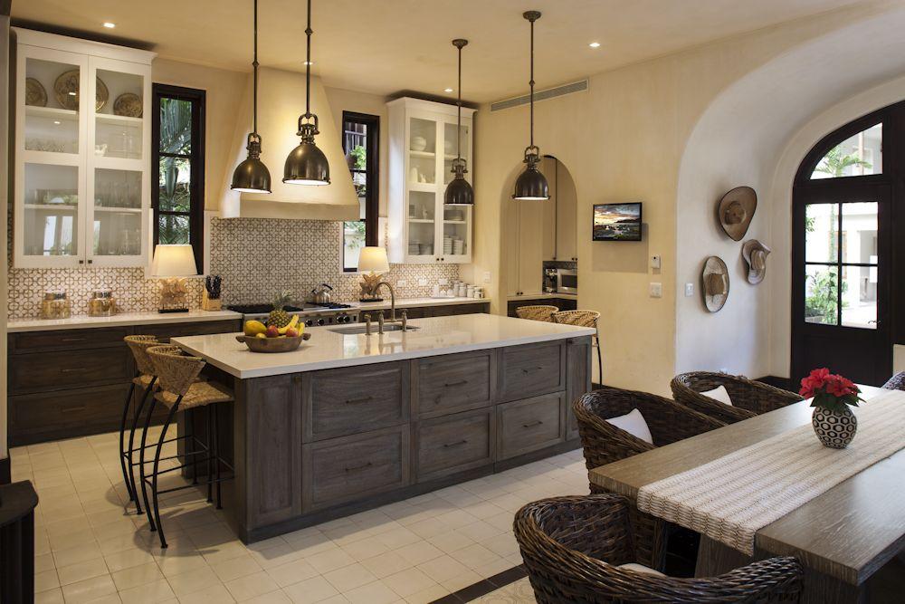 Beth Webb designed kitchen at Casa Brewer