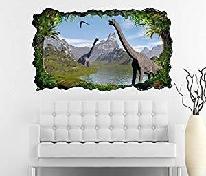 werbung 3d wandtattoo dino dinosaurier kinderzimmer selbstklebend tolle wanddekoration fur kle kinderzimmerdekoration home buchstaben deko wanddekorationen otto wanddeko metall
