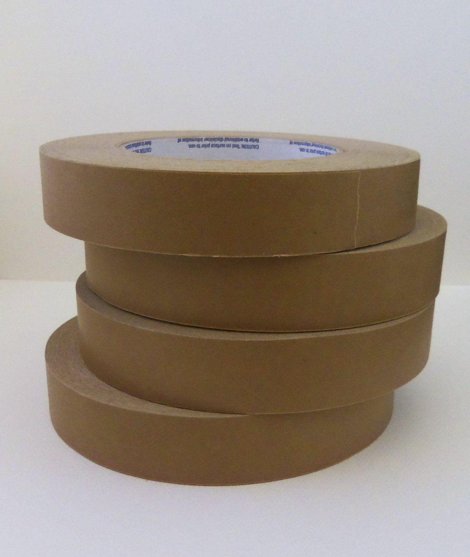 Kraft Masking Tape 1 Roll 1 Inch X 180 Feet 60 Yards 6 99 Via Etsy With Images Masking Tape Kraft