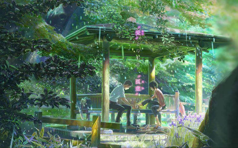 Joyas Ocultas De La Animacion Kotonoha No Niwa El Jardin De Las Palabras Jardin De Las Palabras Peliculas De Anime Viaje A Agartha