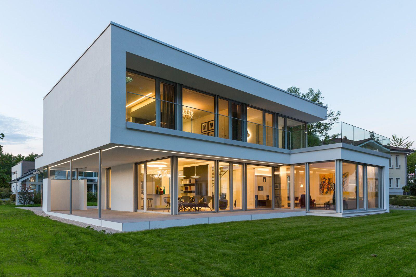 Home design bilder eine etage musterhaus  musterhaus online  arquitectura  pinterest  bauhaus
