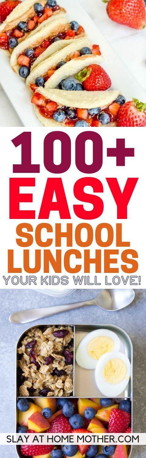 100+ Back To School Kids Lunch-Ideen (die auch Erwachsene lieben werden!)  – Back to school