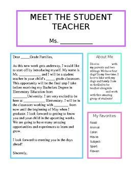 f6202be2b5f5ae08c2622734edffc878 Teacher Introduction Letter To Parents Template on about yourself, sample elementary, parents template, parents day care, new parents, for parents,