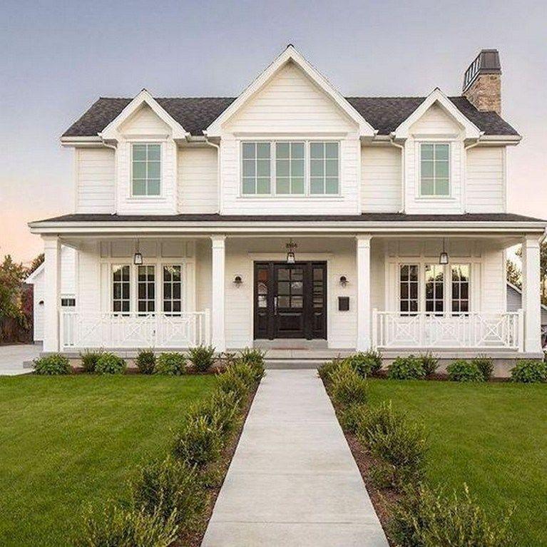 63 farmhouse exterior design ideas stylish but simple look ...
