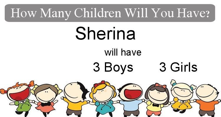 Check my results of How Many Children Will You Have