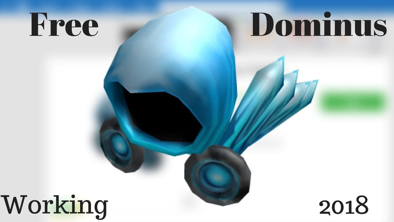 how to get a free dominus hat on roblox 2018