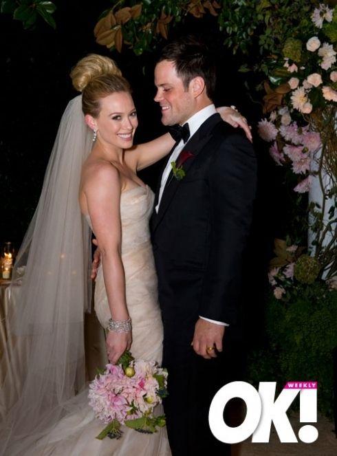 Hilary Duff Wedding Hilary Duff Celebrity Weddings Hilary Duff Mike Comrie