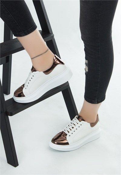 Rovet Beyaz Yuksek Tabanli Spor Ayakkabi Ayakkabilar Ayakkabi Bot Ayakkabi Erkek